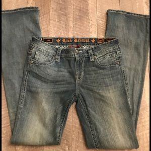 Rock Revival Luna Bootcut Jeans Women's size 29